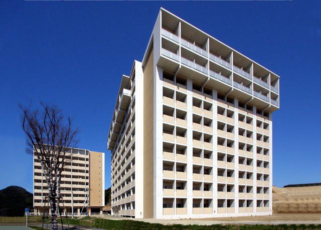 九州大学伊都キャンパス学生寄宿舎 ドミトリーⅡ